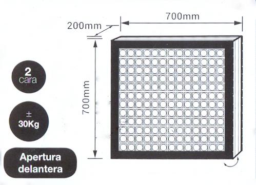 Pantalla led modular P5 Exterior - Pantallas Afiche