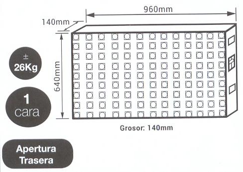Pantalla led modular P8 Exterior - Pantallas Afiche